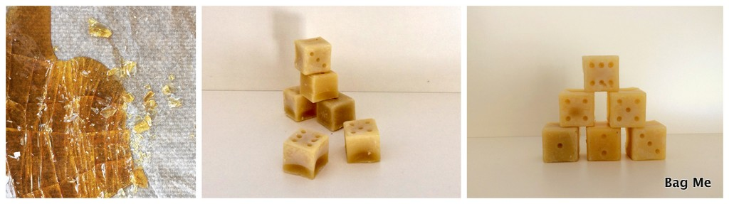 beeswax cubes